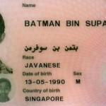 Batman Bin Suparman, Singapure