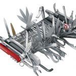 Extrémny nôž, Wenger Swiss Army, najväčší vreckový nožík